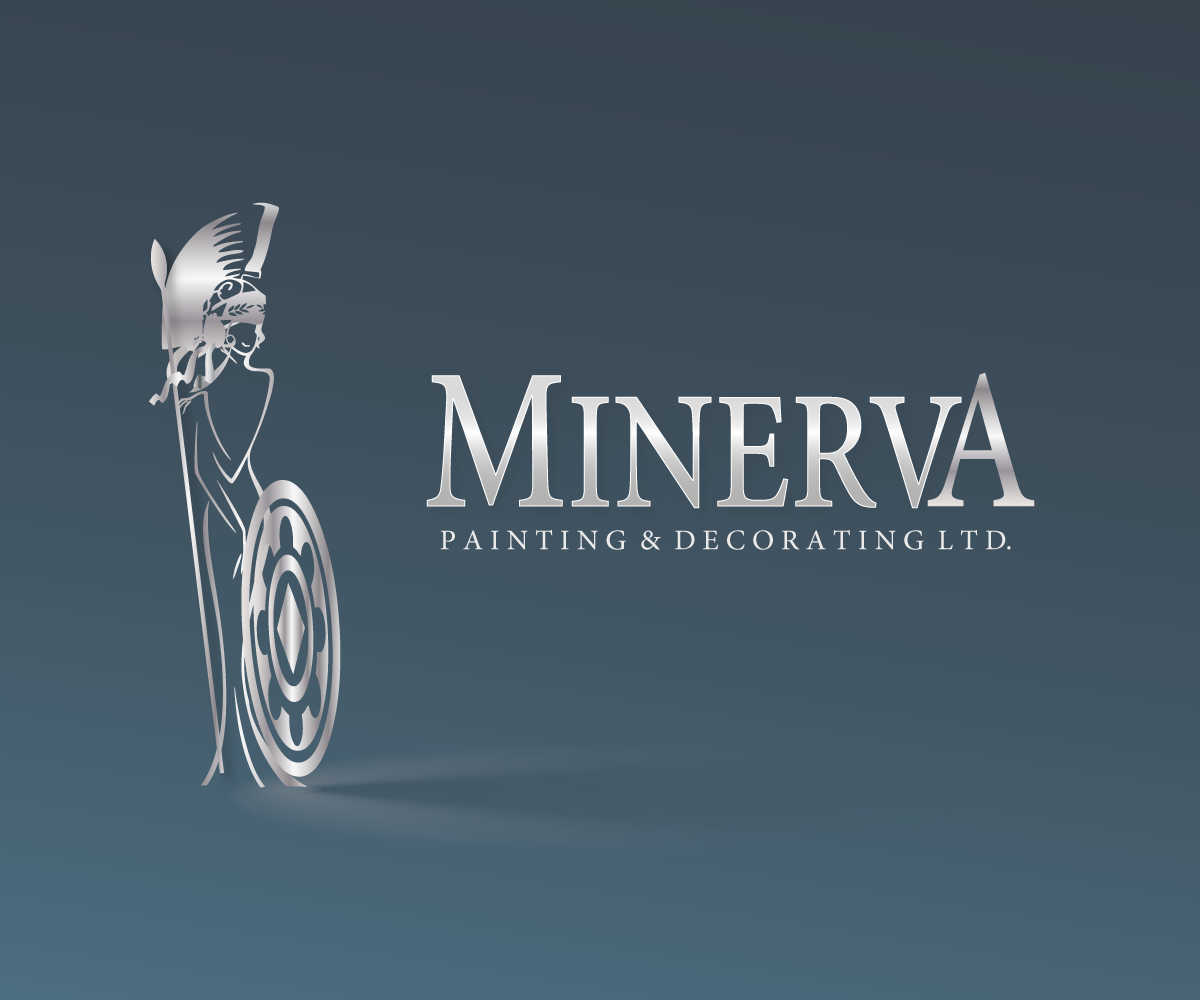 Logo Design by luwabu - Entry No. 68 in the Logo Design Contest New Logo Design for Minerva Painting & Decorating Ltd..