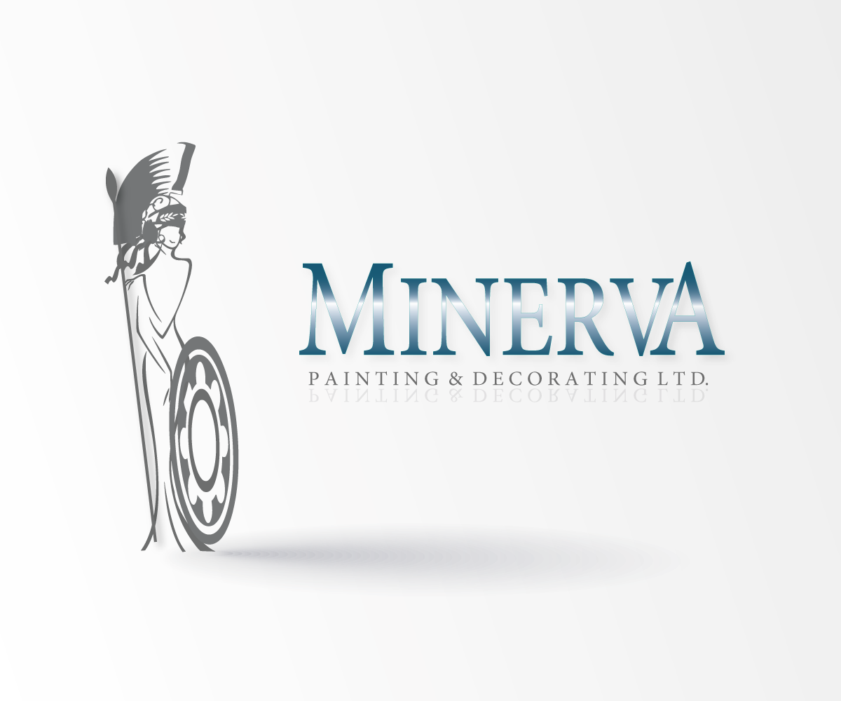 Logo Design by luwabu - Entry No. 70 in the Logo Design Contest New Logo Design for Minerva Painting & Decorating Ltd..