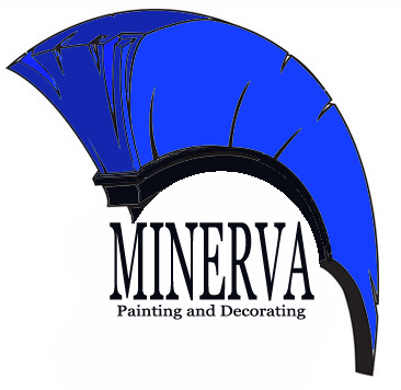 Logo Design by Moag - Entry No. 71 in the Logo Design Contest New Logo Design for Minerva Painting & Decorating Ltd..