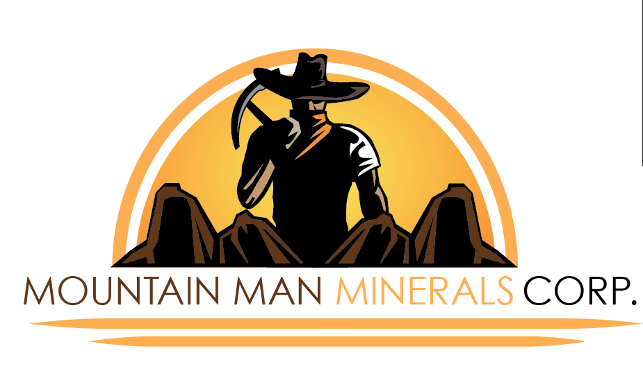 Logo Design by Justin Lucero - Entry No. 13 in the Logo Design Contest Mountian Man Minerals Corp. Logo Design.