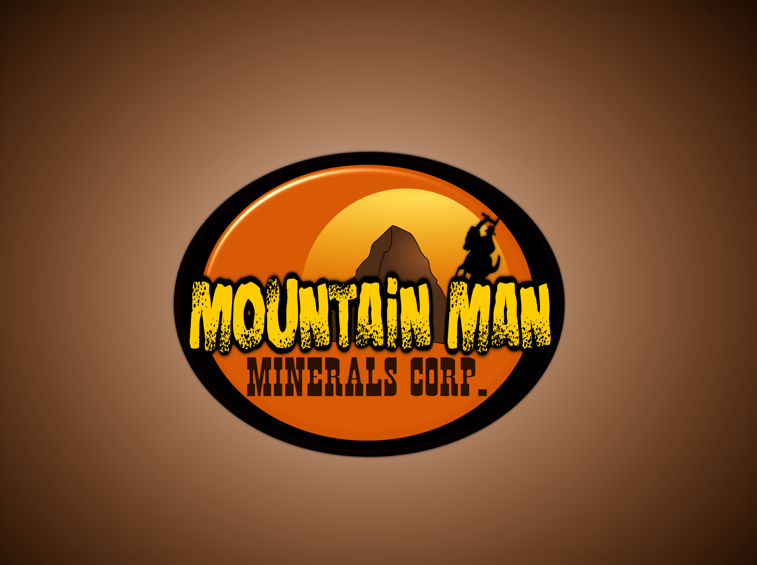 Logo Design by Joseph calunsag Cagaanan - Entry No. 19 in the Logo Design Contest Mountian Man Minerals Corp. Logo Design.