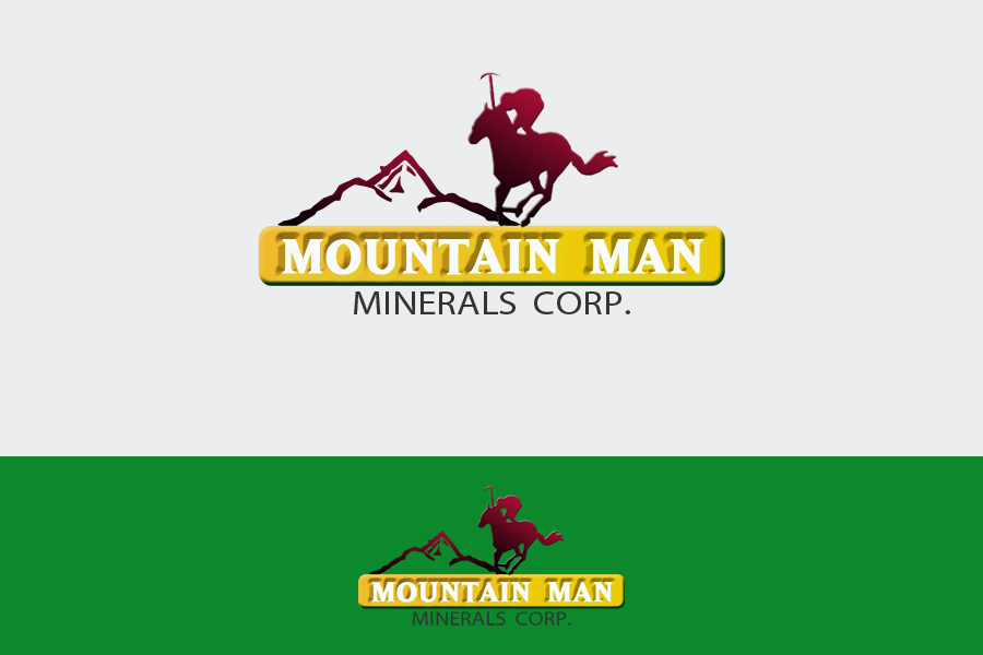 Logo Design by Golden_Hand - Entry No. 20 in the Logo Design Contest Mountian Man Minerals Corp. Logo Design.