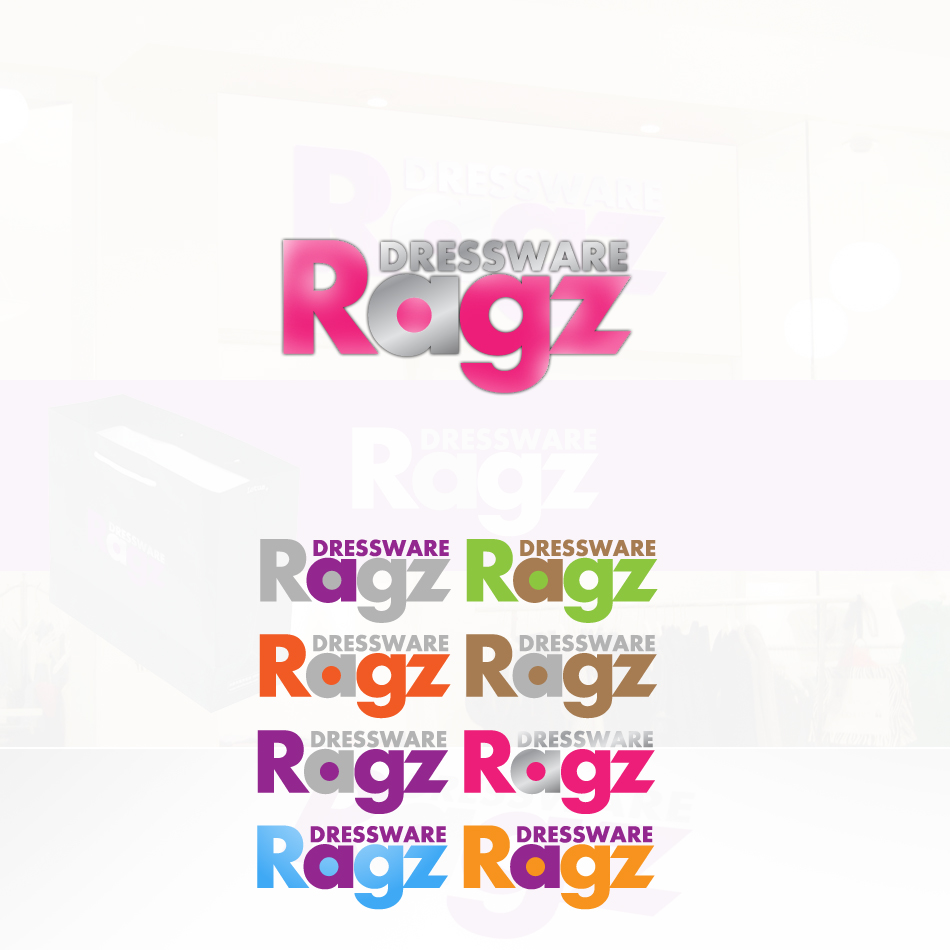 Logo Design by Damjan Jovancic - Entry No. 390 in the Logo Design Contest Ragz Dressware.