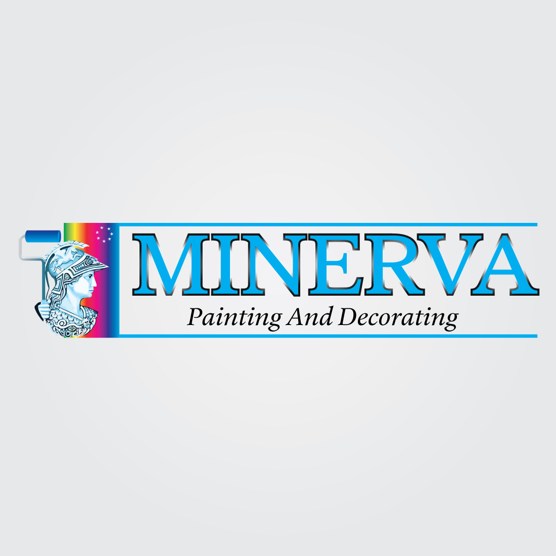 Logo Design by Dan Cristian - Entry No. 77 in the Logo Design Contest New Logo Design for Minerva Painting & Decorating Ltd..