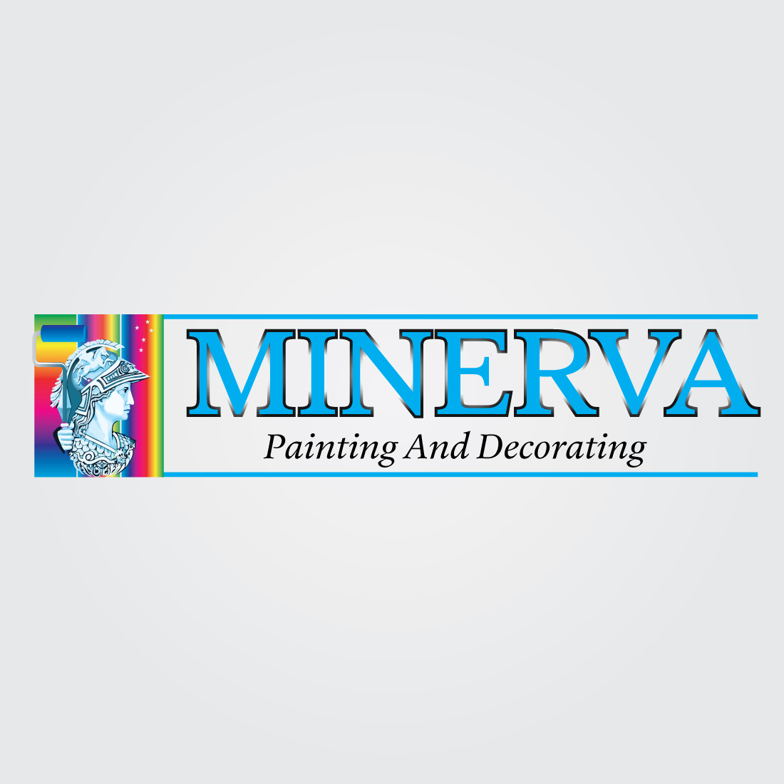 Logo Design by Dan Cristian - Entry No. 78 in the Logo Design Contest New Logo Design for Minerva Painting & Decorating Ltd..