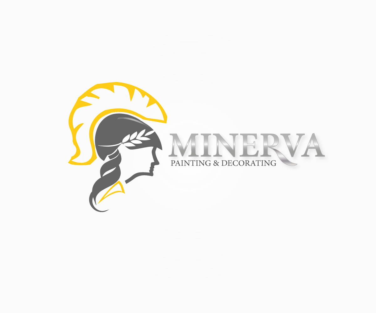 Logo Design by luwabu - Entry No. 79 in the Logo Design Contest New Logo Design for Minerva Painting & Decorating Ltd..