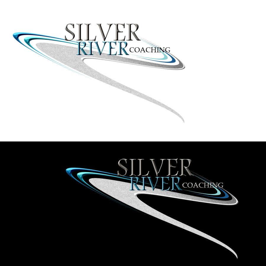 Logo Design by Chris Frederickson - Entry No. 15 in the Logo Design Contest Logo Design Needed for Exciting New Company Silver River Coaching.