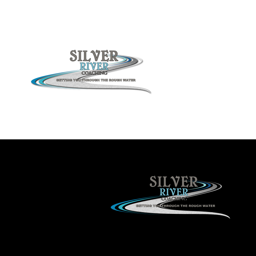 Logo Design by Chris Frederickson - Entry No. 26 in the Logo Design Contest Logo Design Needed for Exciting New Company Silver River Coaching.
