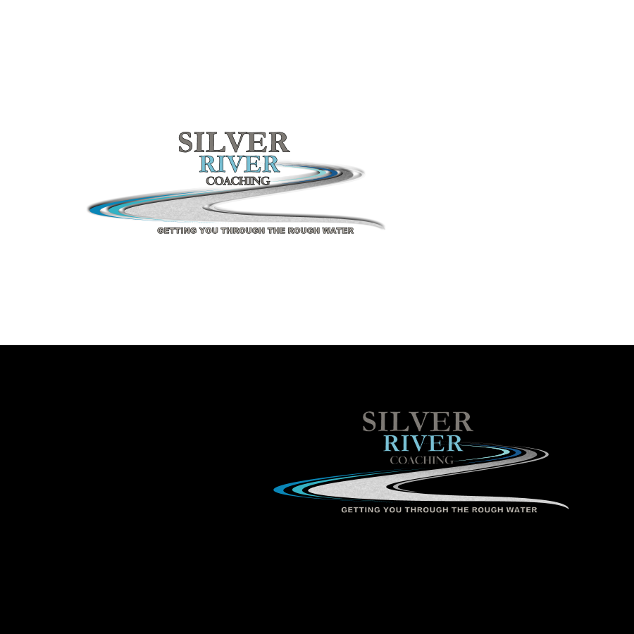 Logo Design by Chris Frederickson - Entry No. 27 in the Logo Design Contest Logo Design Needed for Exciting New Company Silver River Coaching.