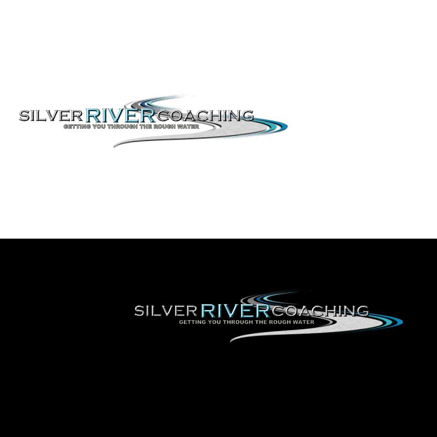 Logo Design by Chris Frederickson - Entry No. 30 in the Logo Design Contest Logo Design Needed for Exciting New Company Silver River Coaching.