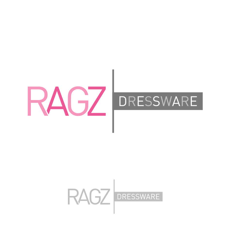 Logo Design by rudi - Entry No. 396 in the Logo Design Contest Ragz Dressware.