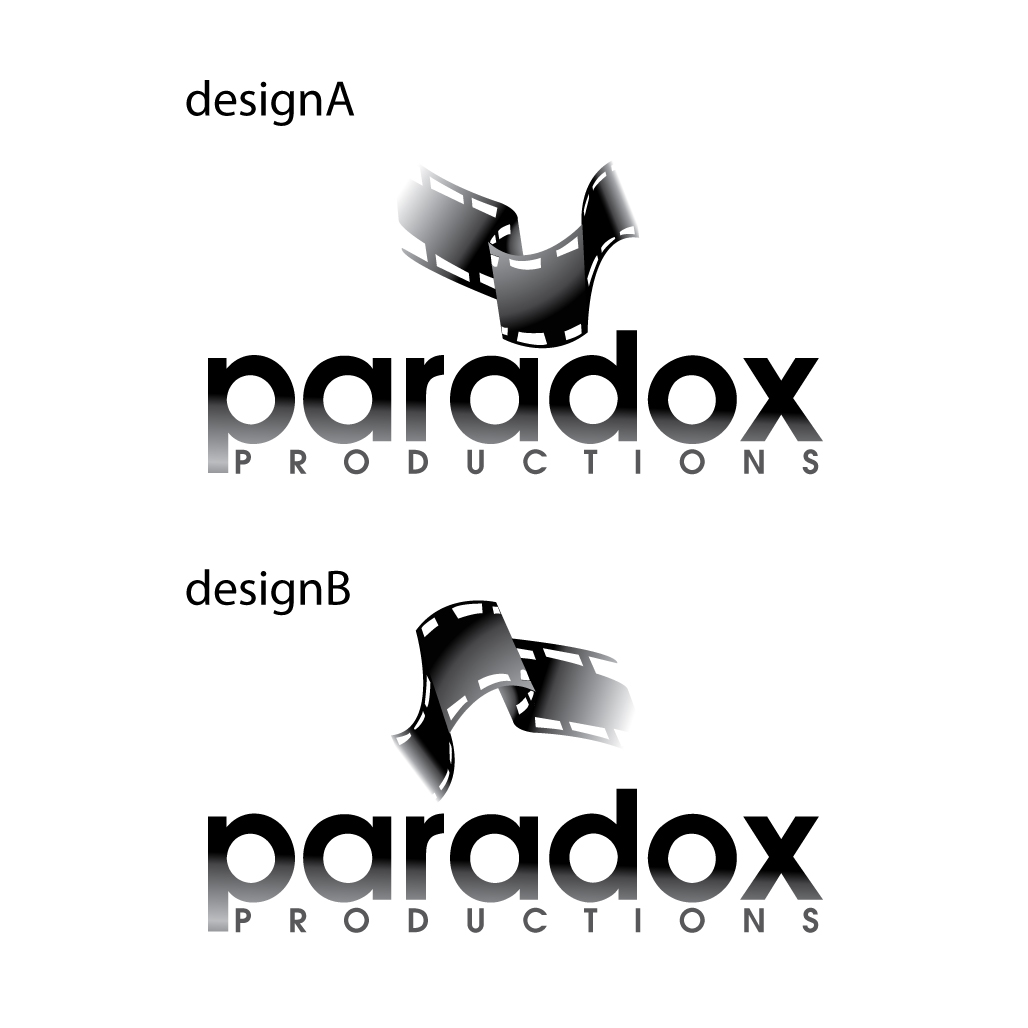 Logo Design by stormbighit - Entry No. 30 in the Logo Design Contest Unique Logo Design Wanted for PARADOX Productions.