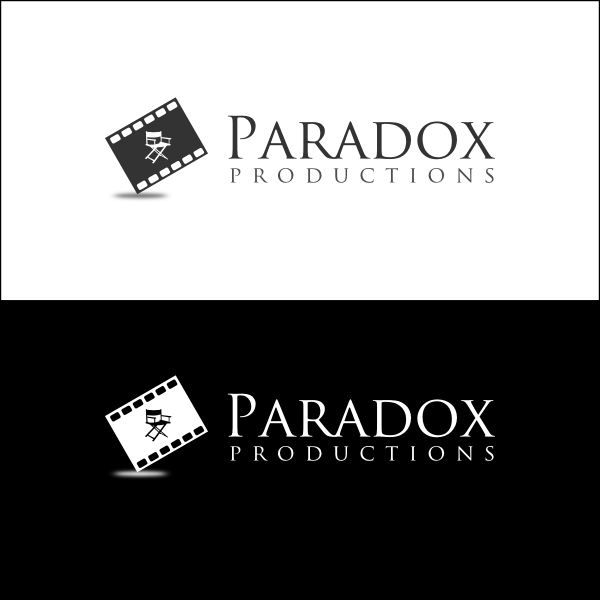 Logo Design by Joseph Vebra - Entry No. 33 in the Logo Design Contest Unique Logo Design Wanted for PARADOX Productions.