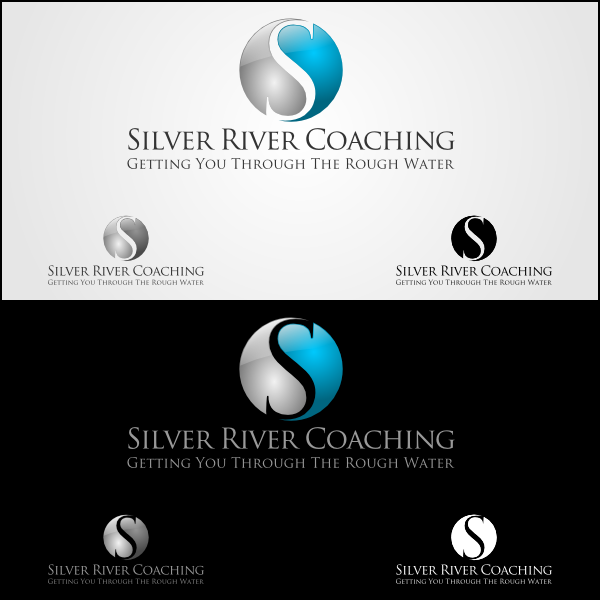 Logo Design by Joseph Vebra - Entry No. 48 in the Logo Design Contest Logo Design Needed for Exciting New Company Silver River Coaching.