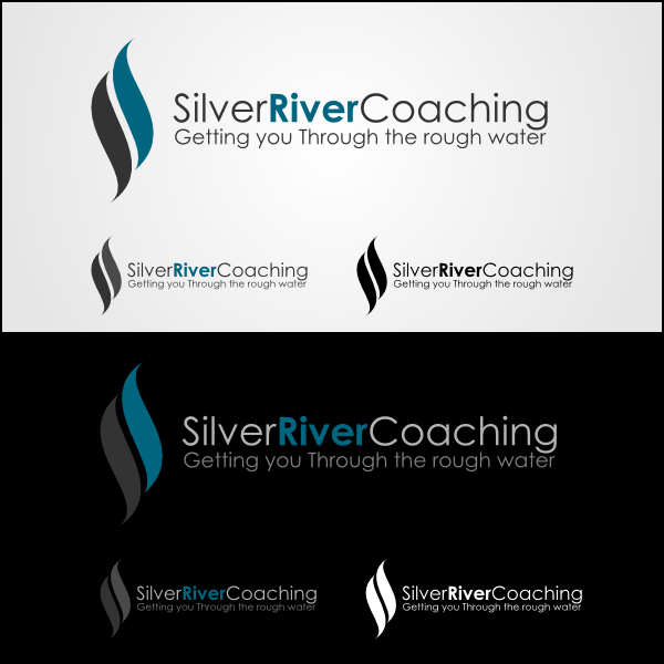 Logo Design by Joseph Vebra - Entry No. 49 in the Logo Design Contest Logo Design Needed for Exciting New Company Silver River Coaching.