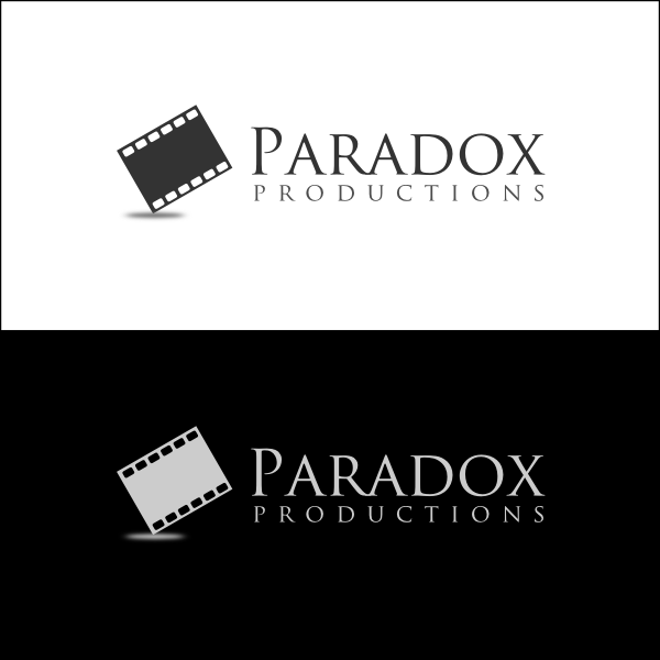 Logo Design by Joseph Vebra - Entry No. 35 in the Logo Design Contest Unique Logo Design Wanted for PARADOX Productions.