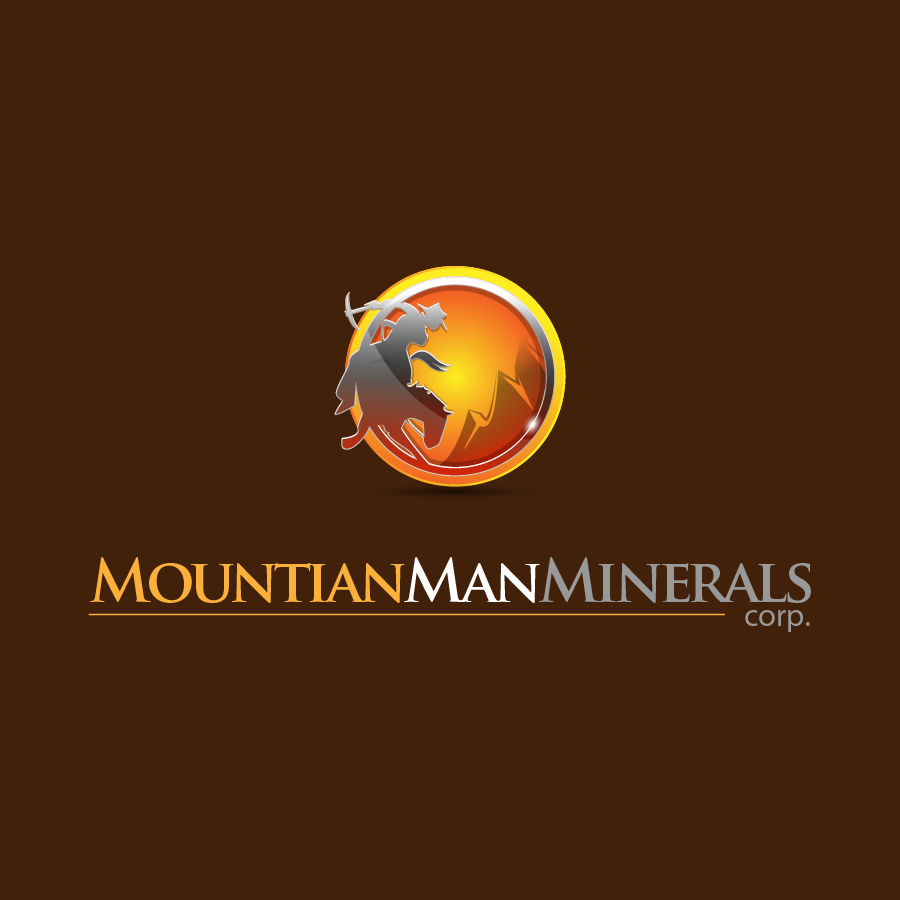 Logo Design by zesthar - Entry No. 23 in the Logo Design Contest Mountian Man Minerals Corp. Logo Design.