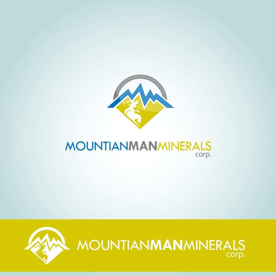 Logo Design by zesthar - Entry No. 25 in the Logo Design Contest Mountian Man Minerals Corp. Logo Design.