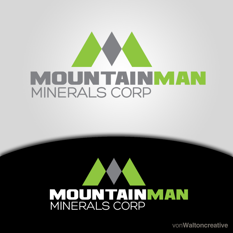 Logo Design by vonwalton - Entry No. 28 in the Logo Design Contest Mountian Man Minerals Corp. Logo Design.