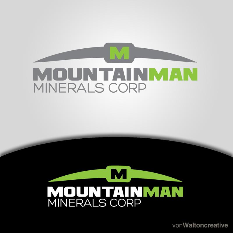 Logo Design by vonwalton - Entry No. 29 in the Logo Design Contest Mountian Man Minerals Corp. Logo Design.