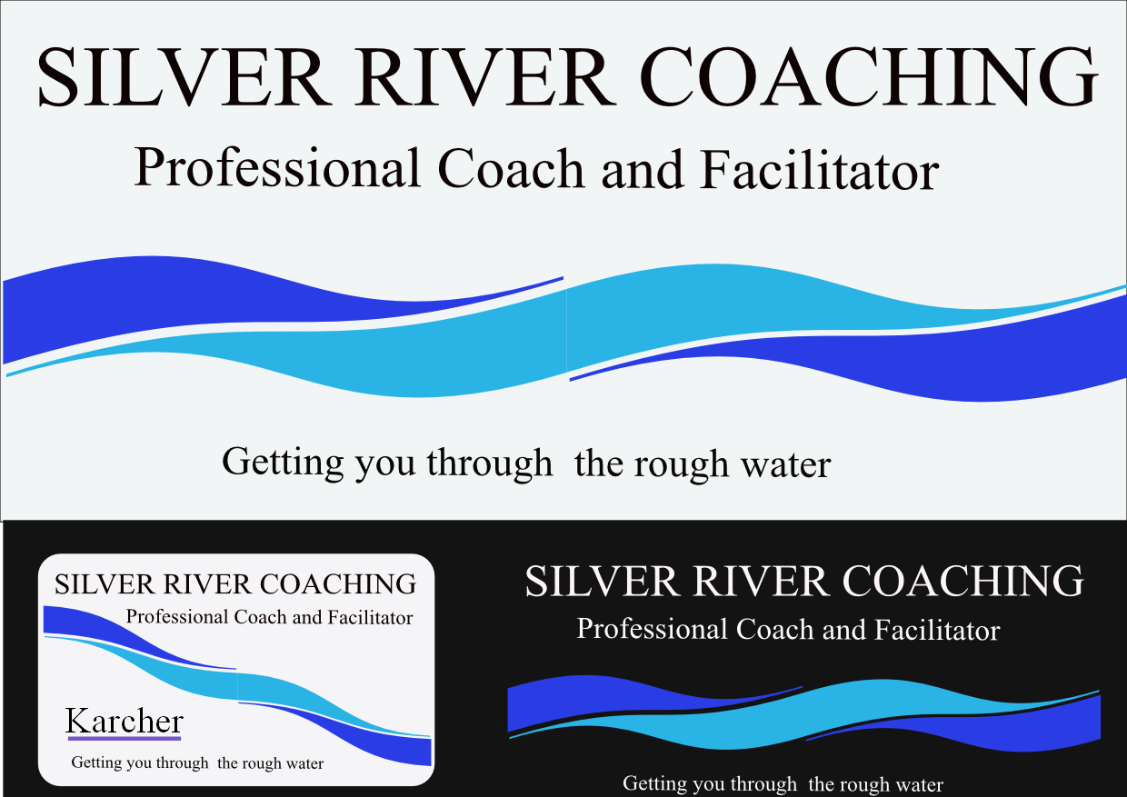 Logo Design by Heri Susanto - Entry No. 57 in the Logo Design Contest Logo Design Needed for Exciting New Company Silver River Coaching.