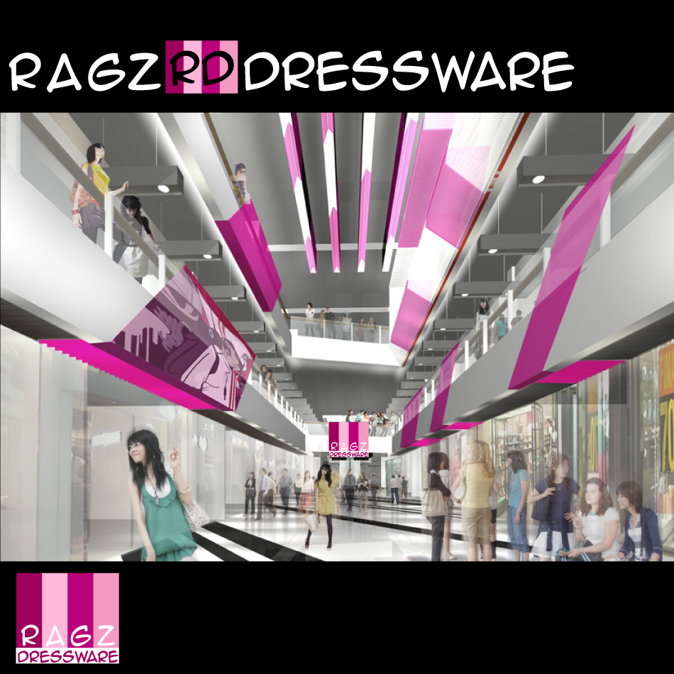 Logo Design by trav - Entry No. 407 in the Logo Design Contest Ragz Dressware.