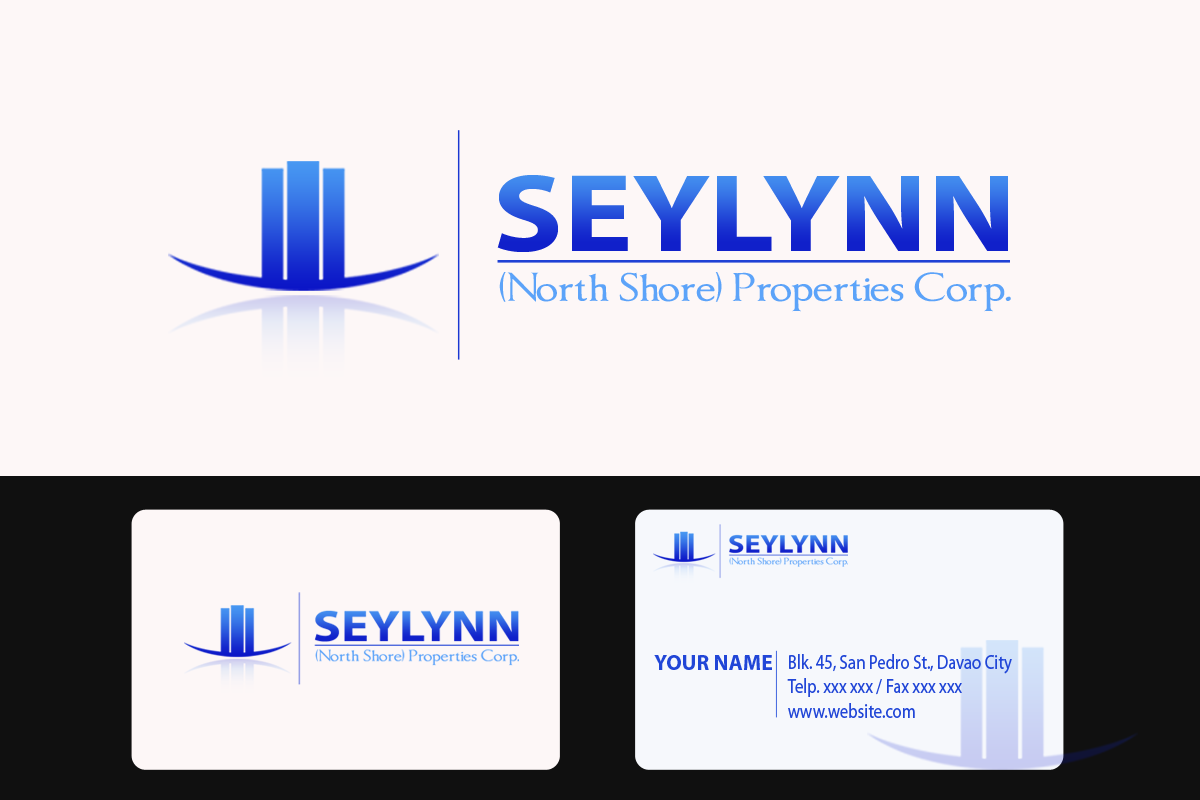Logo Design by Golden_Hand - Entry No. 134 in the Logo Design Contest Logo Design Needed for Exciting New Company Seylynn Northshore Properties.
