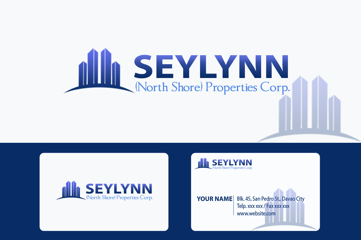Logo Design by golden-hand - Entry No. 135 in the Logo Design Contest Logo Design Needed for Exciting New Company Seylynn Northshore Properties.