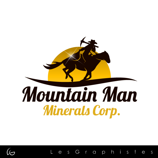 Logo Design by Les-Graphistes - Entry No. 40 in the Logo Design Contest Mountian Man Minerals Corp. Logo Design.