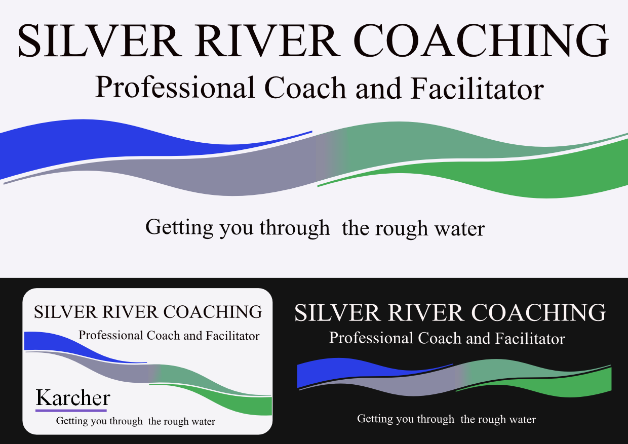 Logo Design by Heri Susanto - Entry No. 66 in the Logo Design Contest Logo Design Needed for Exciting New Company Silver River Coaching.