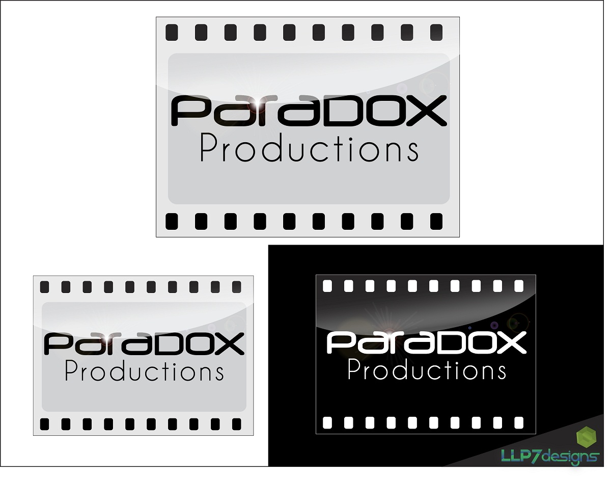 Logo Design by LLP7 - Entry No. 43 in the Logo Design Contest Unique Logo Design Wanted for PARADOX Productions.