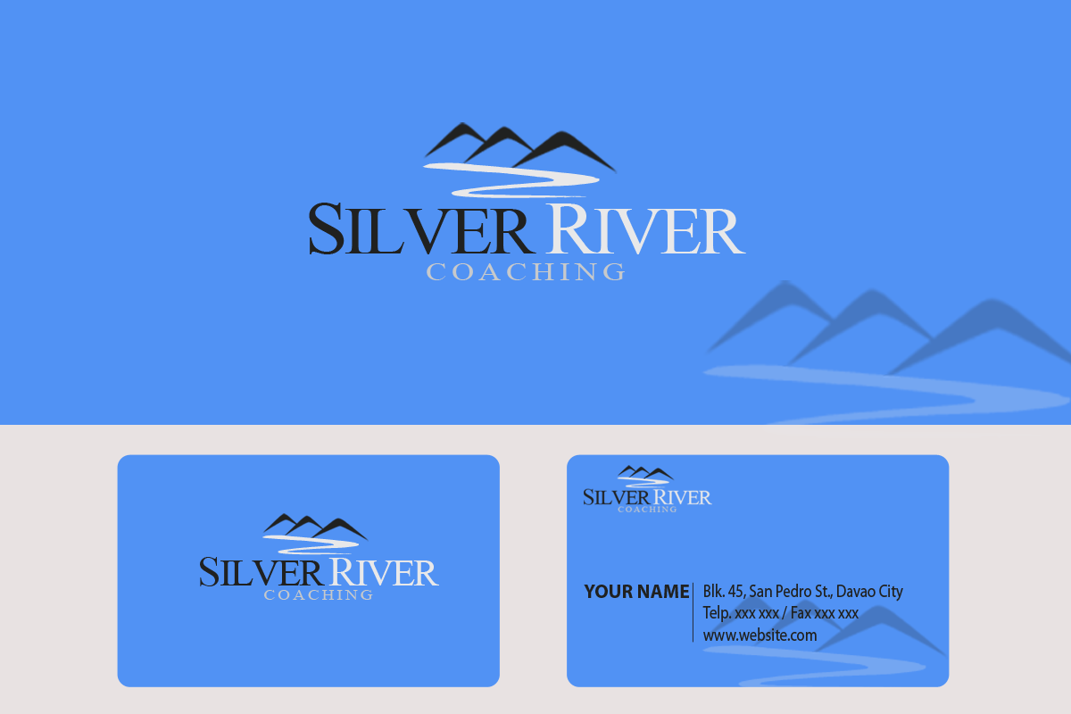 Logo Design by Golden_Hand - Entry No. 68 in the Logo Design Contest Logo Design Needed for Exciting New Company Silver River Coaching.
