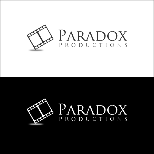 Logo Design by Joseph Vebra - Entry No. 47 in the Logo Design Contest Unique Logo Design Wanted for PARADOX Productions.