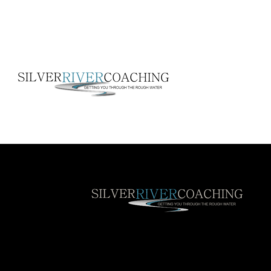 Logo Design by Chris Frederickson - Entry No. 69 in the Logo Design Contest Logo Design Needed for Exciting New Company Silver River Coaching.