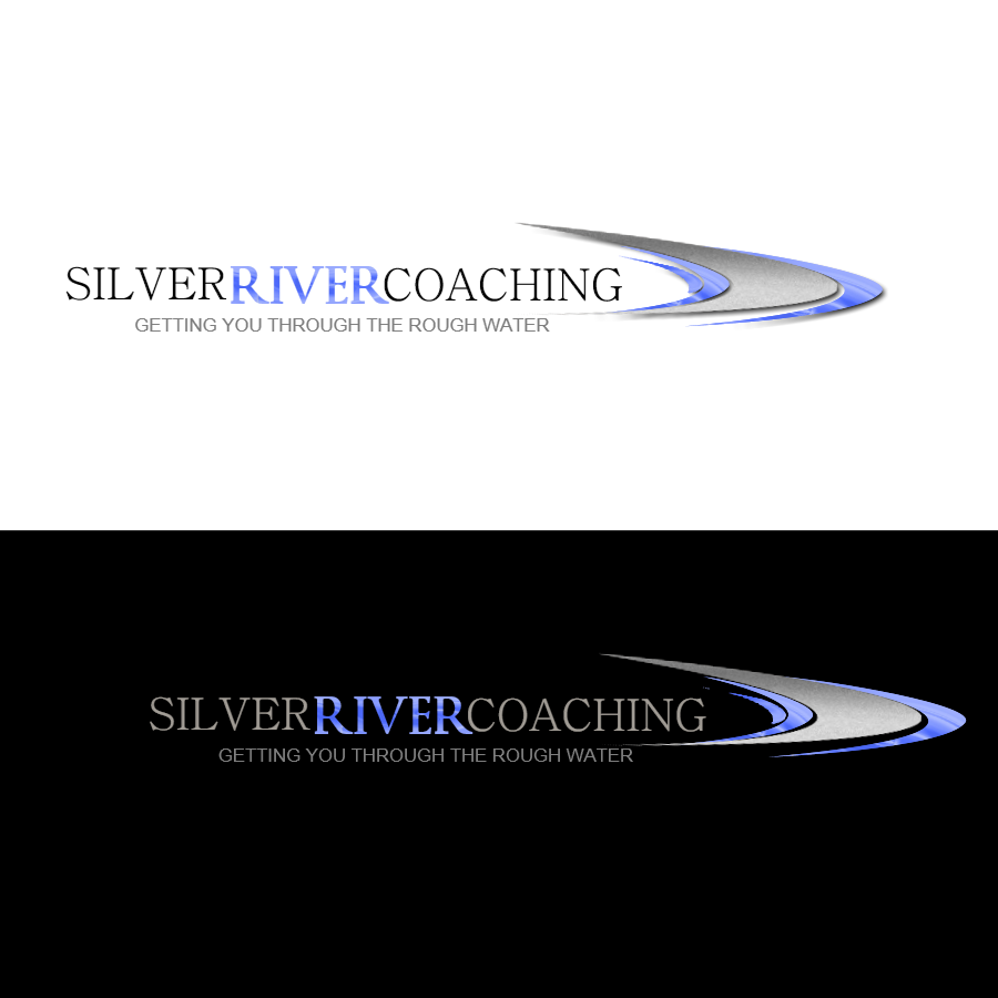 Logo Design by Chris Frederickson - Entry No. 72 in the Logo Design Contest Logo Design Needed for Exciting New Company Silver River Coaching.
