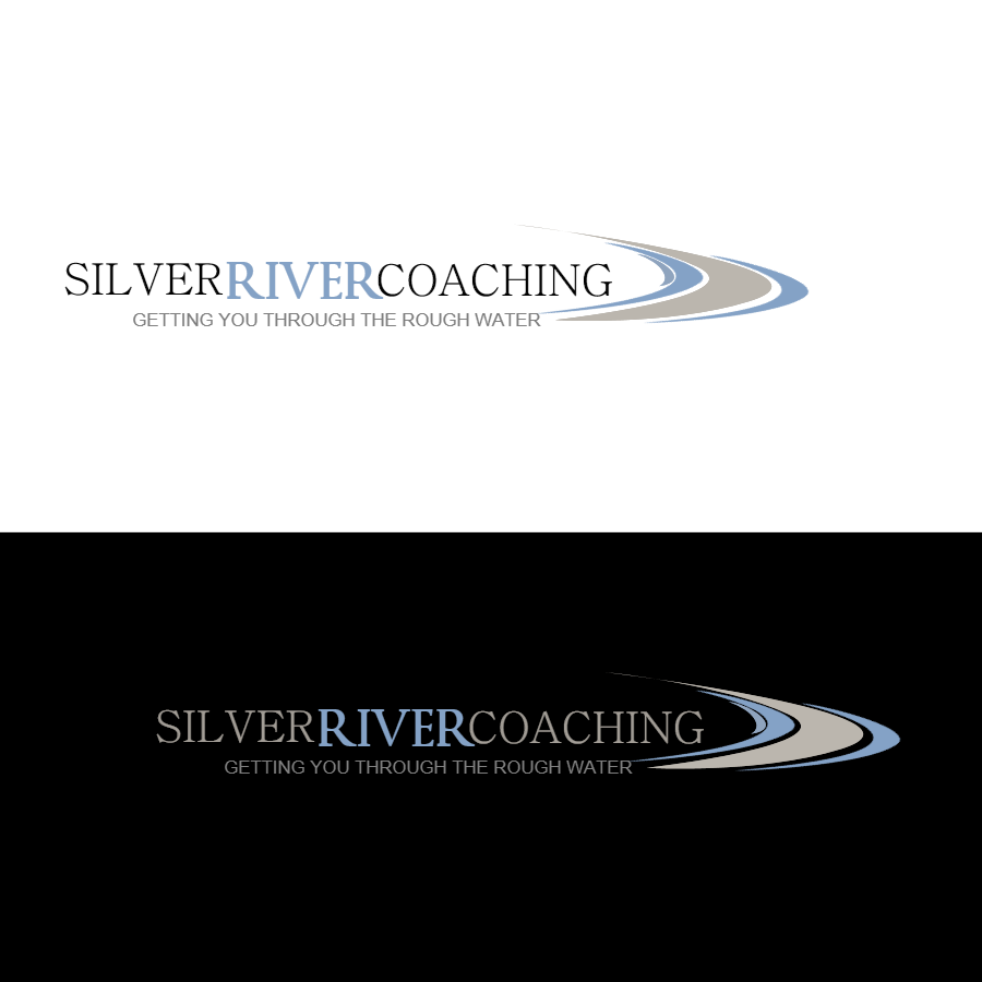 Logo Design by Chris Frederickson - Entry No. 77 in the Logo Design Contest Logo Design Needed for Exciting New Company Silver River Coaching.
