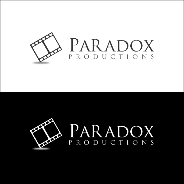 Logo Design by Joseph Vebra - Entry No. 69 in the Logo Design Contest Unique Logo Design Wanted for PARADOX Productions.