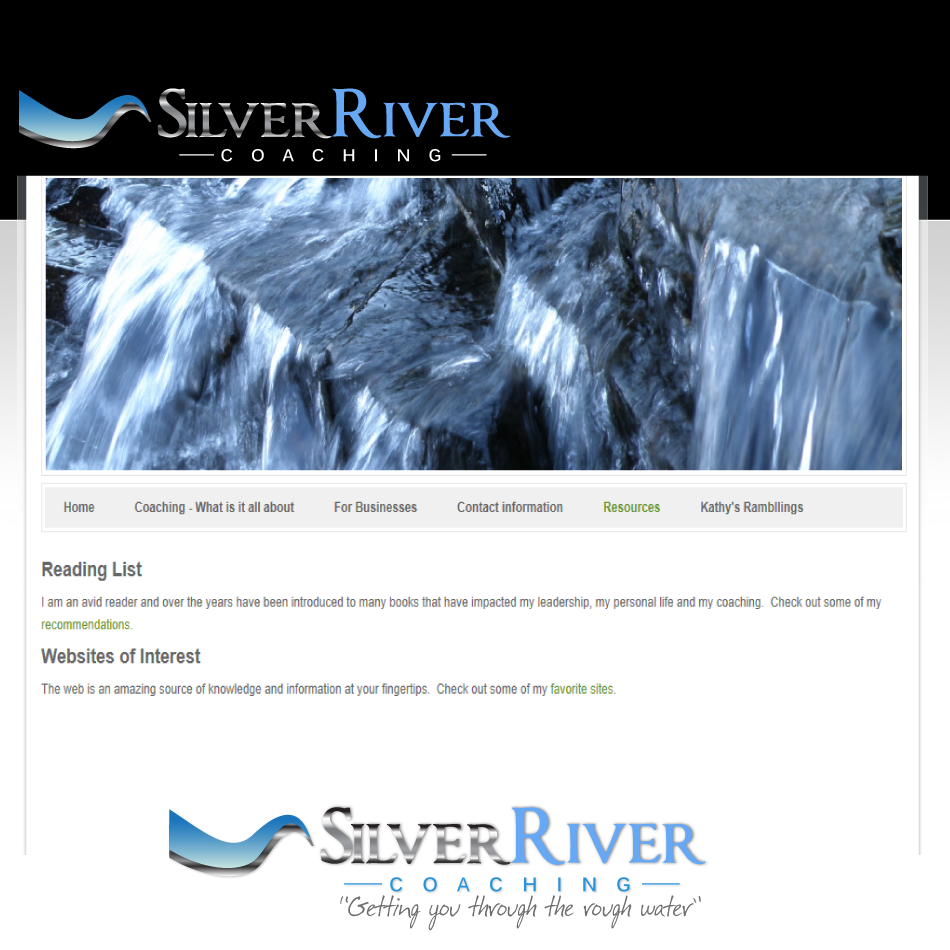 Logo Design by moonflower - Entry No. 111 in the Logo Design Contest Logo Design Needed for Exciting New Company Silver River Coaching.