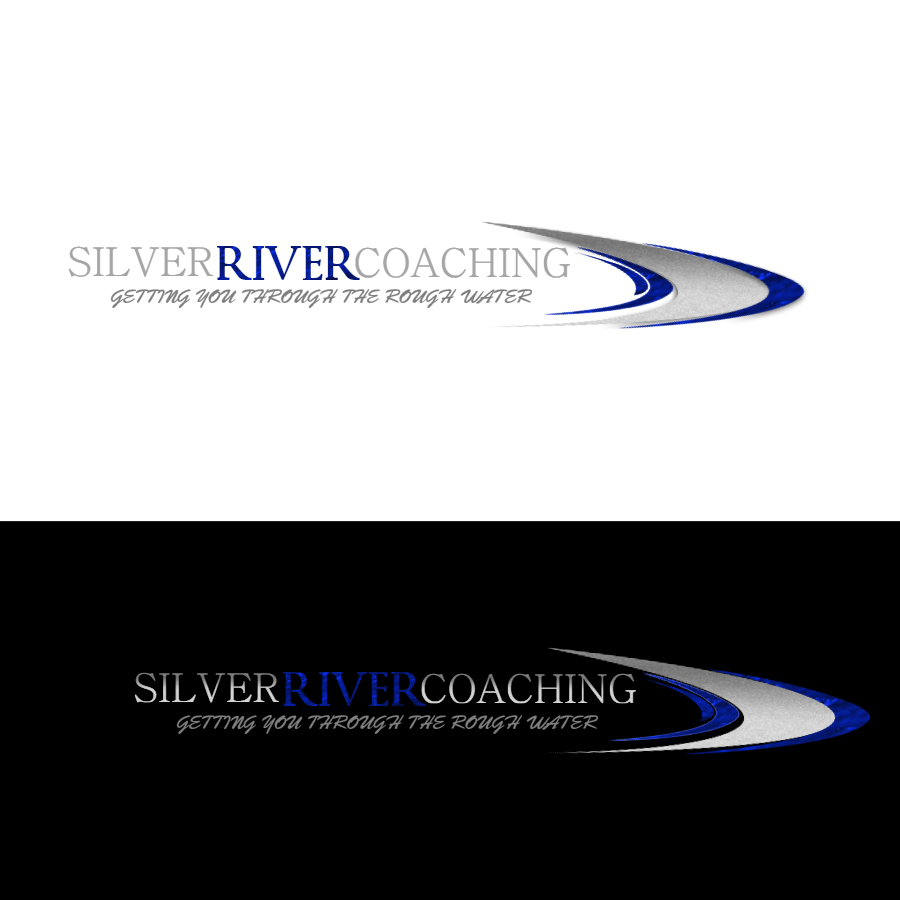Logo Design by Chris Frederickson - Entry No. 130 in the Logo Design Contest Logo Design Needed for Exciting New Company Silver River Coaching.