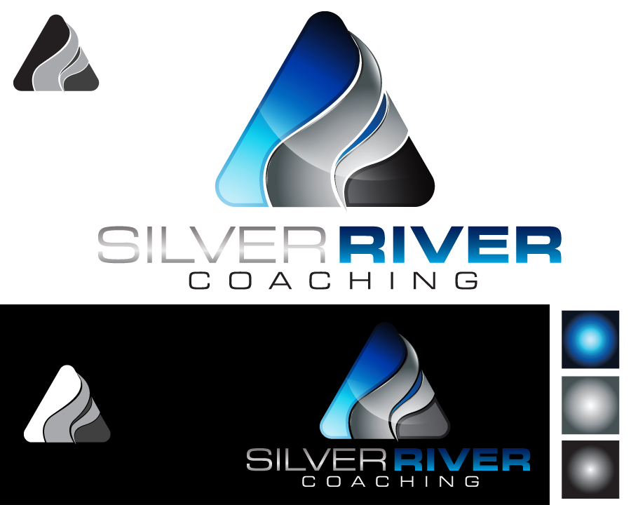 Logo Design by iclanproduction - Entry No. 138 in the Logo Design Contest Logo Design Needed for Exciting New Company Silver River Coaching.