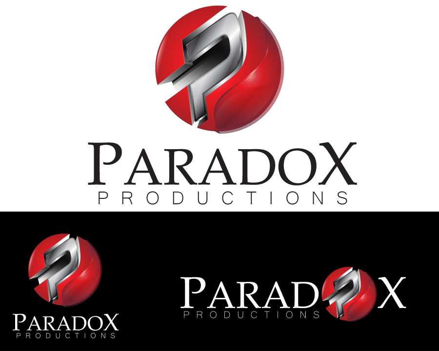 Logo Design by iclanproduction - Entry No. 81 in the Logo Design Contest Unique Logo Design Wanted for PARADOX Productions.