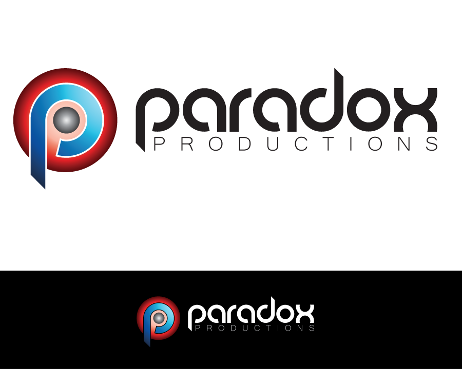 Logo Design by iclanproduction - Entry No. 82 in the Logo Design Contest Unique Logo Design Wanted for PARADOX Productions.