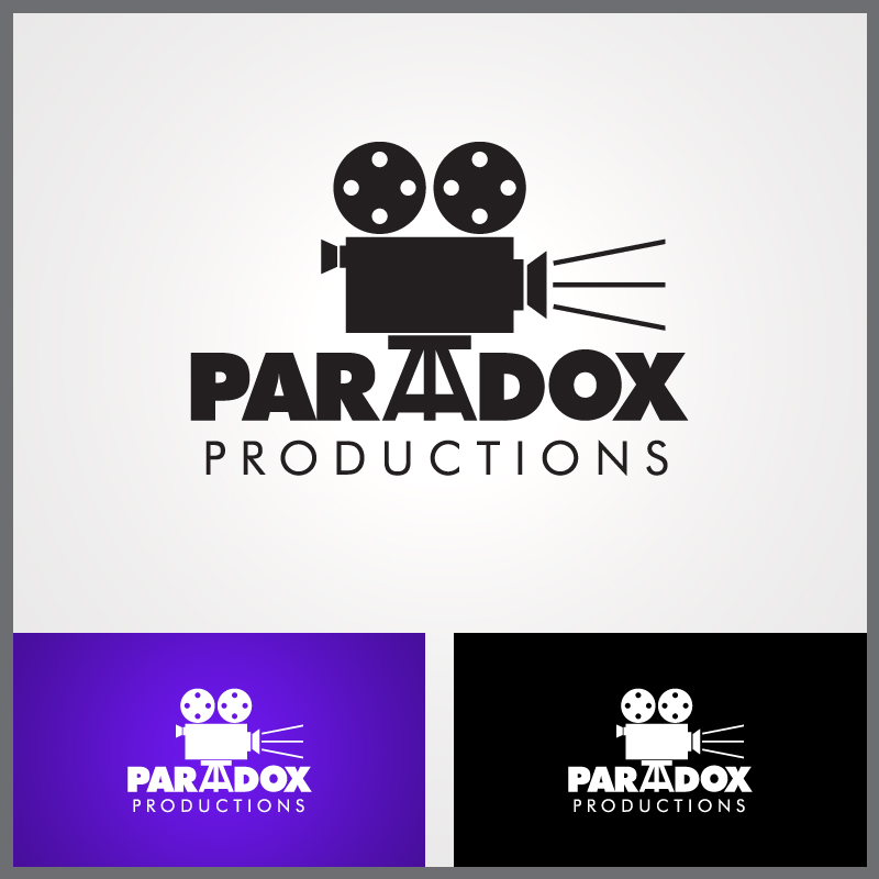Logo Design by Number-Eight-Design - Entry No. 87 in the Logo Design Contest Unique Logo Design Wanted for PARADOX Productions.