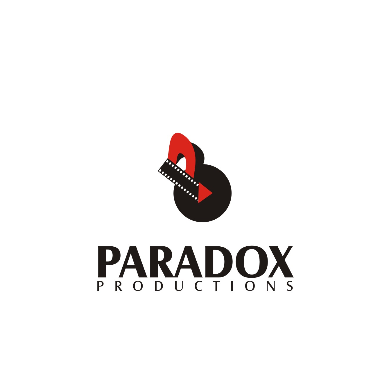 Logo Design by jalal - Entry No. 89 in the Logo Design Contest Unique Logo Design Wanted for PARADOX Productions.