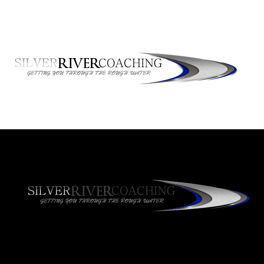 Logo Design by Chris Frederickson - Entry No. 189 in the Logo Design Contest Logo Design Needed for Exciting New Company Silver River Coaching.