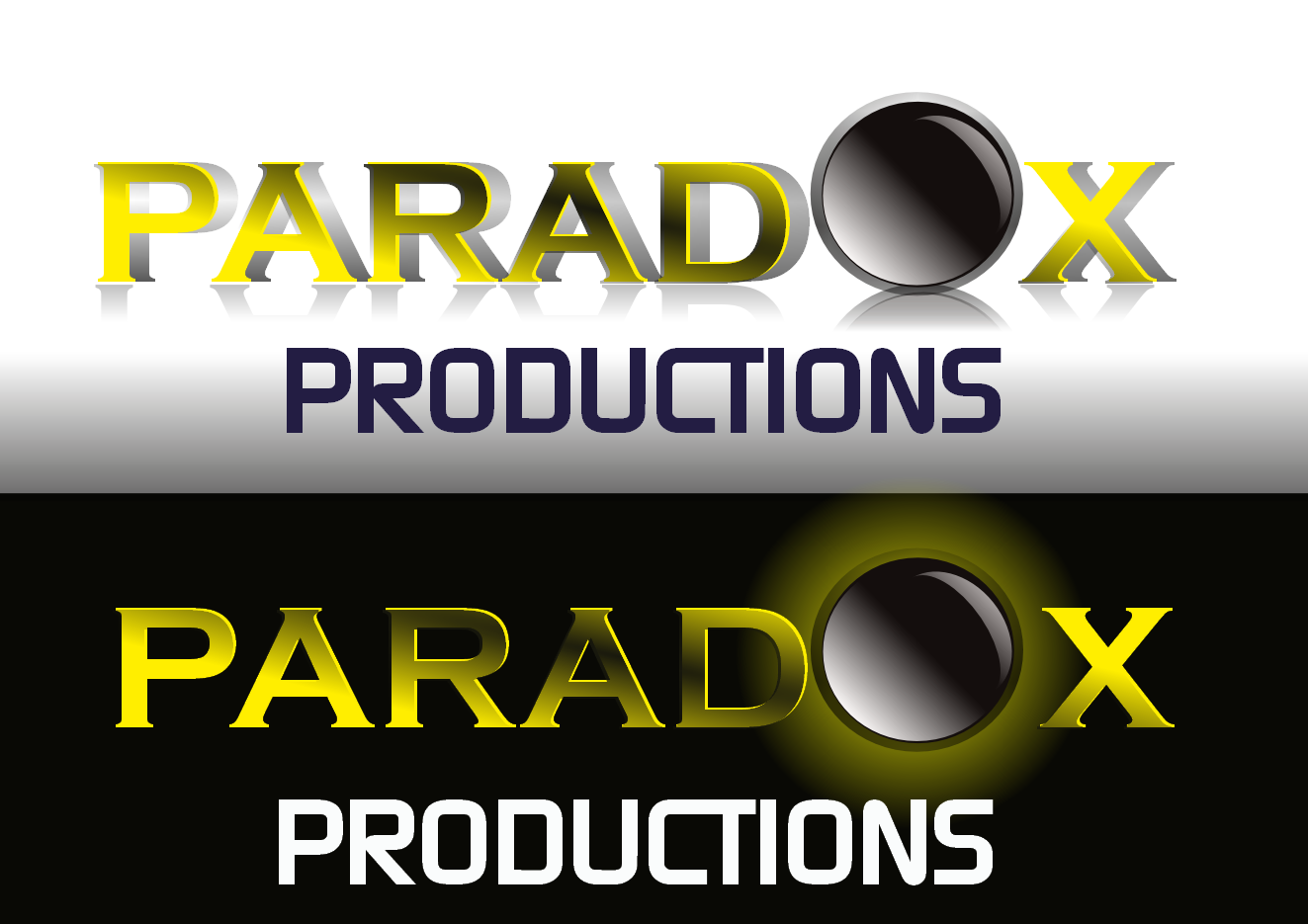 Logo Design by Heri Susanto - Entry No. 92 in the Logo Design Contest Unique Logo Design Wanted for PARADOX Productions.