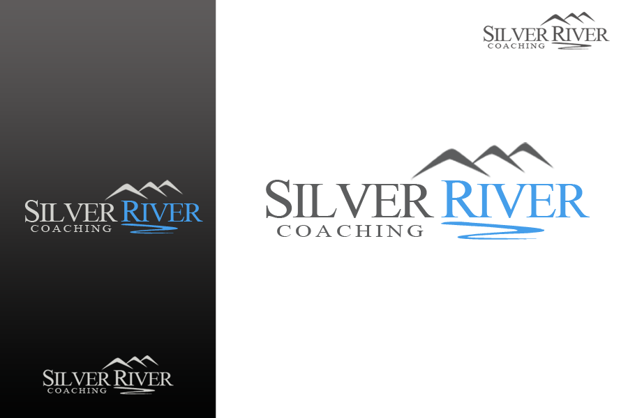 Logo Design by Golden_Hand - Entry No. 198 in the Logo Design Contest Logo Design Needed for Exciting New Company Silver River Coaching.
