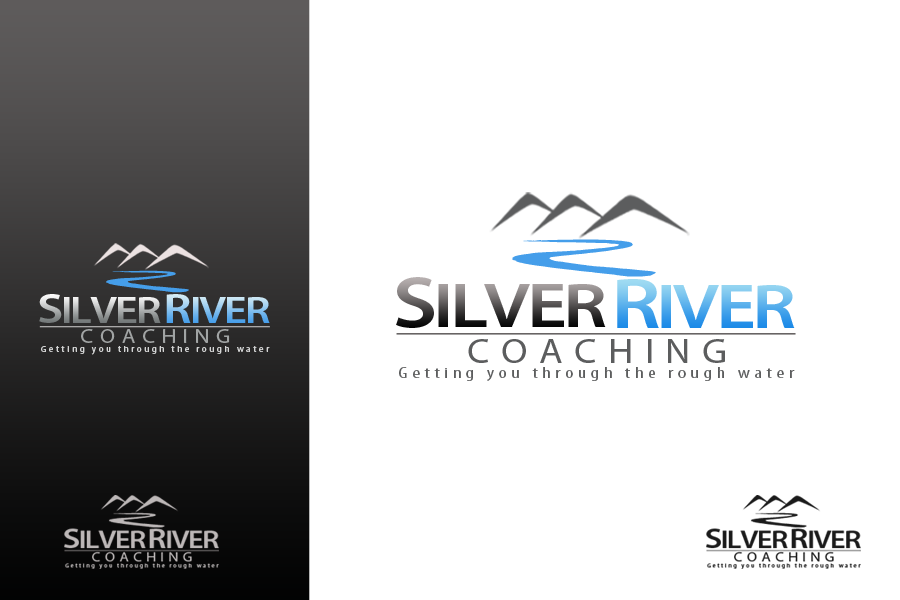 Logo Design by golden-hand - Entry No. 203 in the Logo Design Contest Logo Design Needed for Exciting New Company Silver River Coaching.