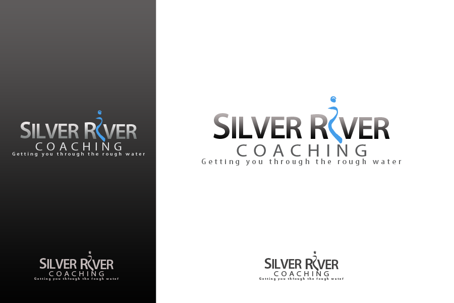 Logo Design by golden-hand - Entry No. 204 in the Logo Design Contest Logo Design Needed for Exciting New Company Silver River Coaching.