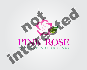 Logo Design by GraySource - Entry No. 38 in the Logo Design Contest Pink Rose Home Support Services.